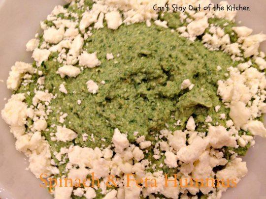 Spinach and Feta Hummus - IMG_6520
