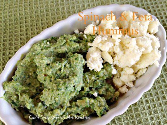 Spinach and Feta Hummus - IMG_6543