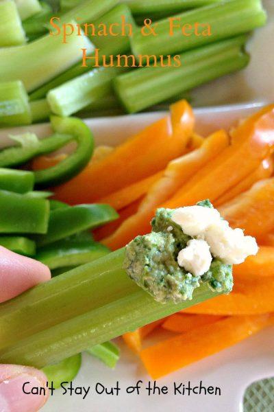 Spinach and Feta Hummus - IMG_6562