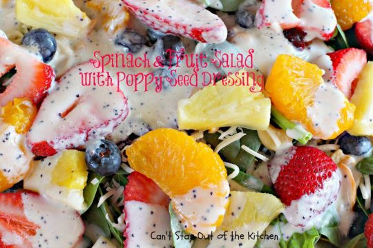 Spinach and Fruit Salad with Poppy Seed Dressing - IMG_5467.jpg