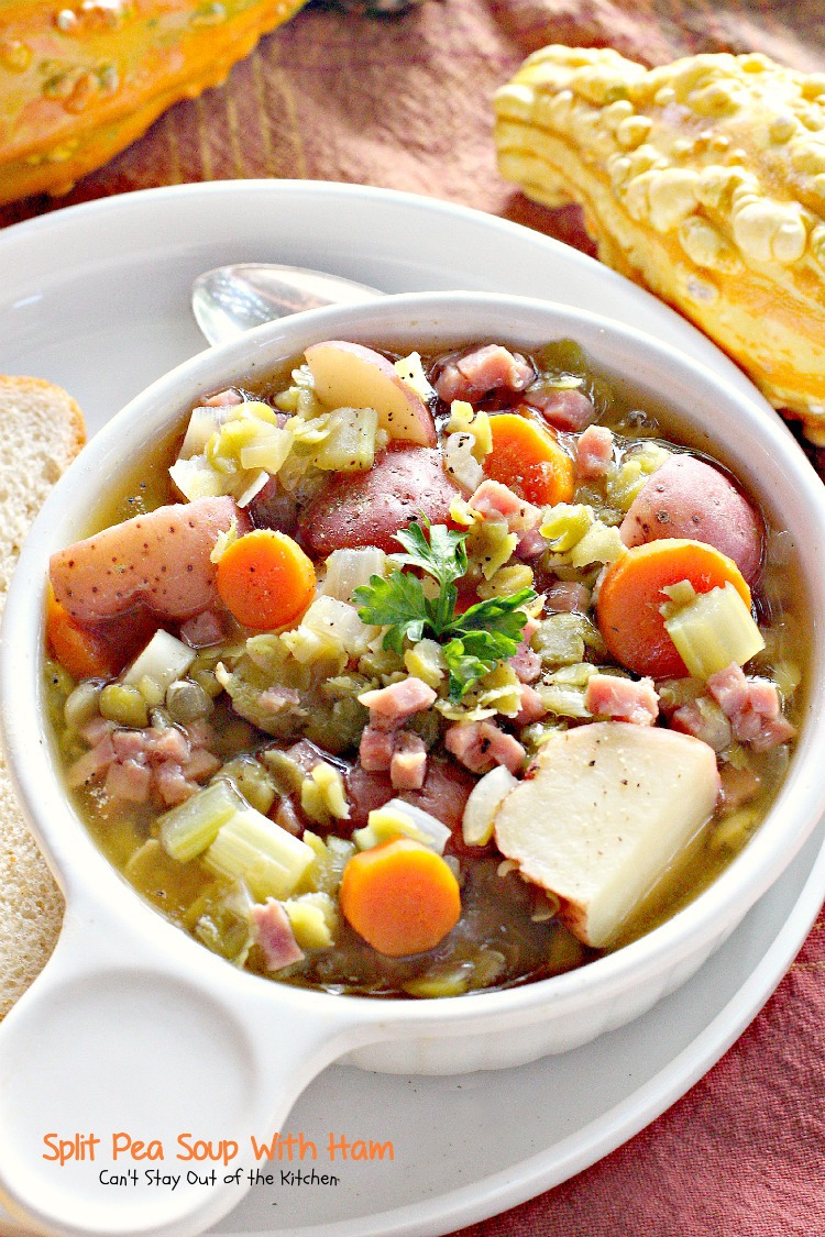 ... soup split pea and potato soup make this easy split pea soup with ham