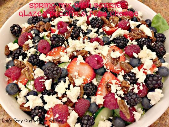 Spring Mix with Berries, Glazed Pecans and Feta Cheese - IMG_3828.jpg