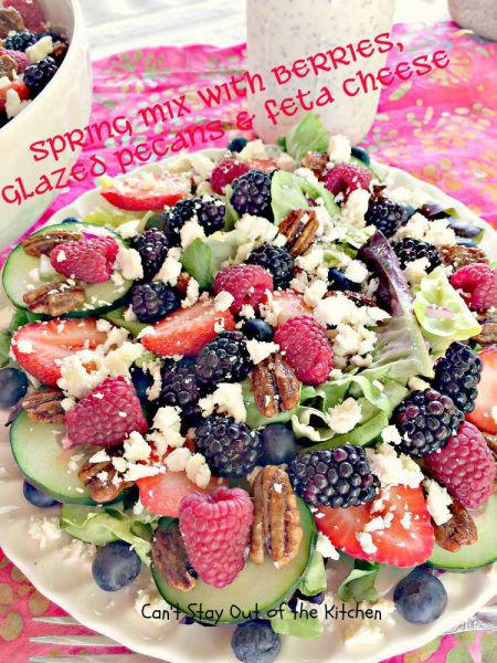 Spring Mix with Berries, Glazed Pecans and Feta Cheese - IMG_3867.jpg
