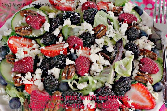 Spring Mix with Berries, Glazed Pecans and Feta Cheese - IMG_8614.jpg