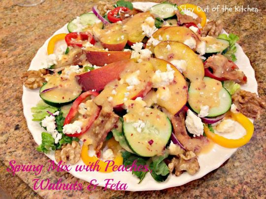 Spring Mix with Peaches, Walnuts and Feta - IMG_3370.jpg