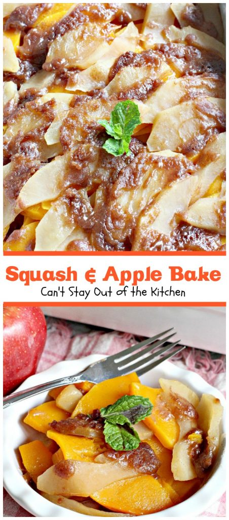 Squash & Apple Bake | Can't Stay Out of the Kitchen