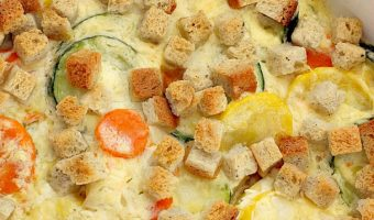 Squash and Carrot Casserole