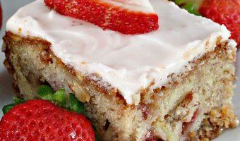 Strawberry Almond Bars