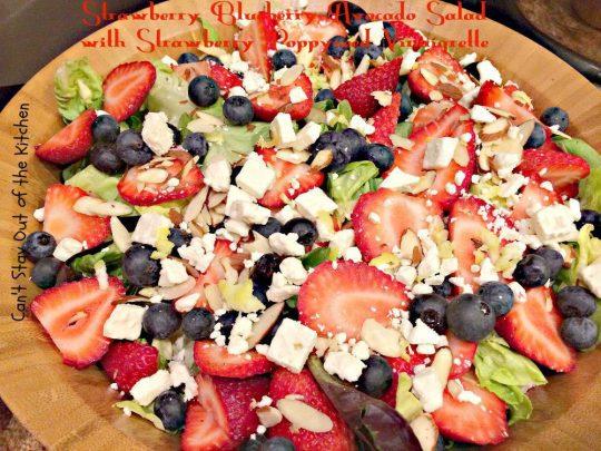 Strawberry Blueberry Avocado Salad with Strawberry Poppyseed Vinaigrette - IMG_4212.jpg