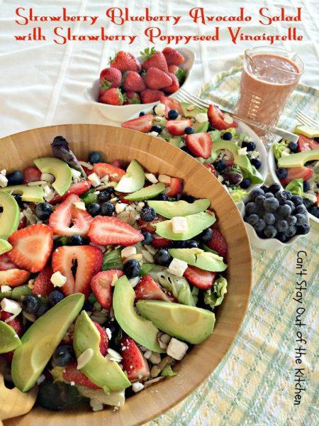 Strawberry Blueberry Avocado Salad with Strawberry Poppyseed Vinaigrette - IMG_4260.jpg