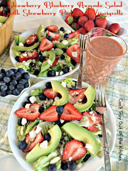 Strawberry Blueberry Avocado Salad with Strawberry Poppyseed Vinaigrette - IMG_4261.jpg