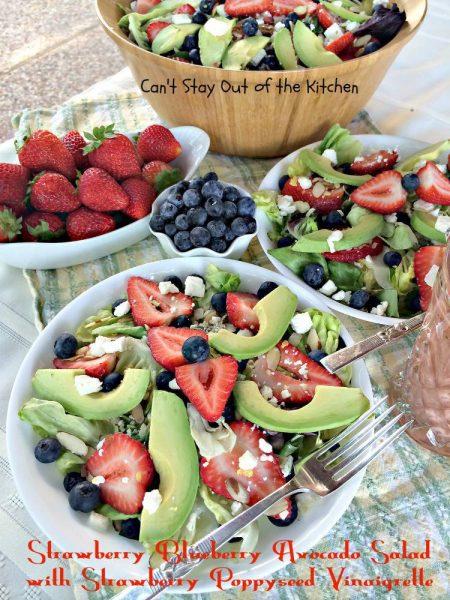 Strawberry Blueberry Avocado Salad with Strawberry Poppyseed Vinaigrette - IMG_4265.jpg