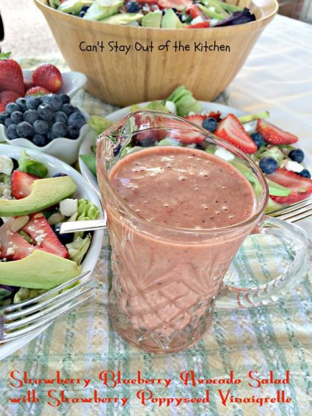 Strawberry Blueberry Avocado Salad with Strawberry Poppyseed Vinaigrette - IMG_4267.jpg