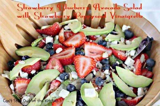 Strawberry Blueberry Avocado Salad with Strawberry Poppyseed Vinaigrette - IMG_8906.jpg