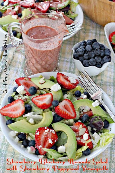Strawberry Blueberry Avocado Salad with Strawberry Poppyseed Vinaigrette - IMG_8931.jpg