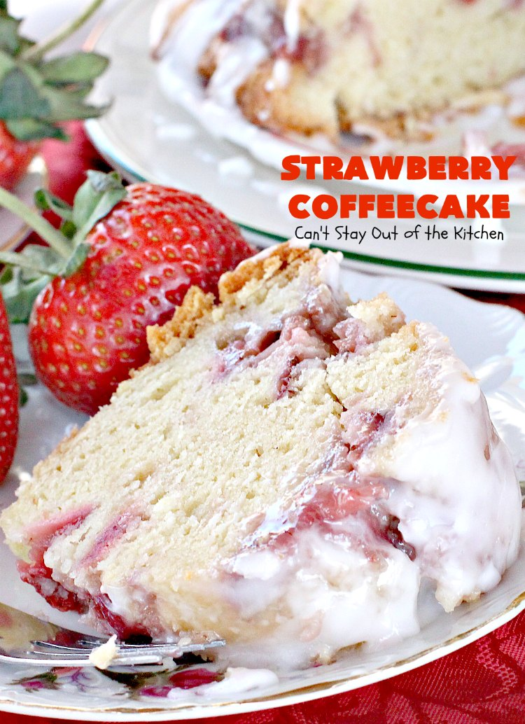Strawberry Coffeecake