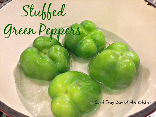 Stuffed Green Peppers - IMG_1573.jpg