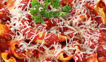 Stuffed Shells Florentine