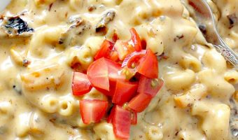 Sun-Dried Tomato Macaroni and Cheese