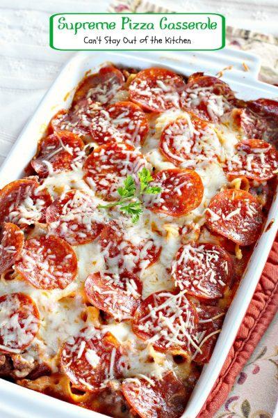 Supreme Pizza Casserole - IMG_4415