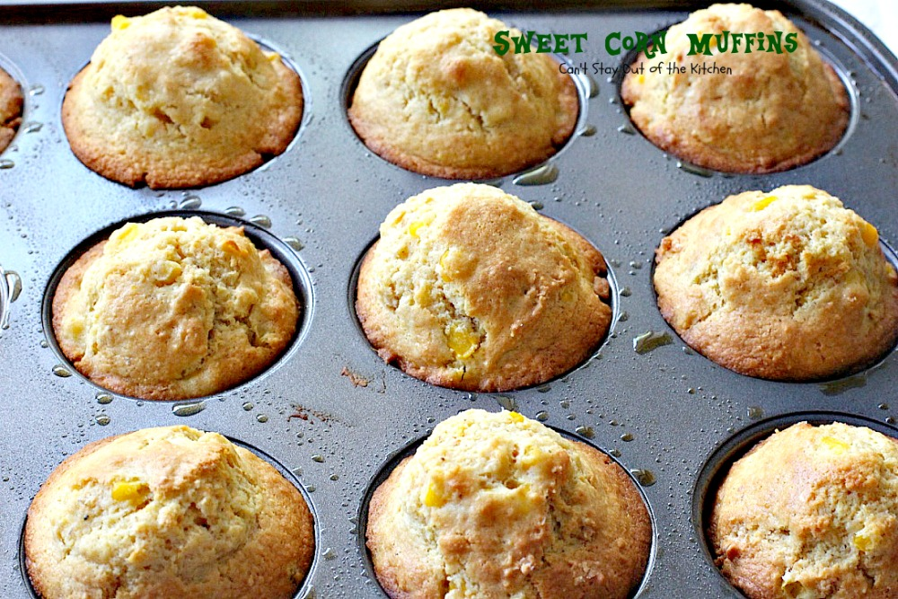 Sweet Corn Muffins Can T Stay Out Of The Kitchen
