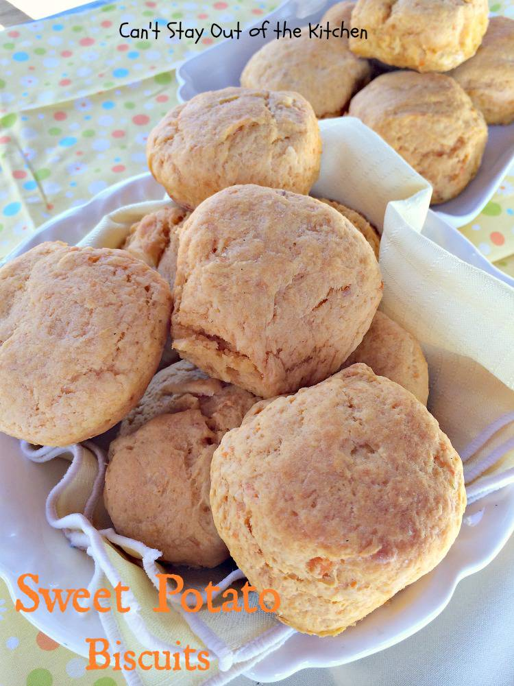We served Sweet Potato Biscuits with Taco Soup when I reheated the ...