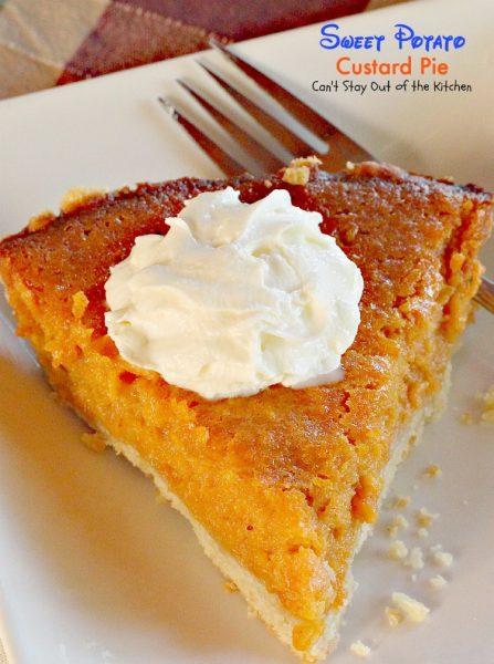 Sweet Potato Custard Pie - IMG_4177