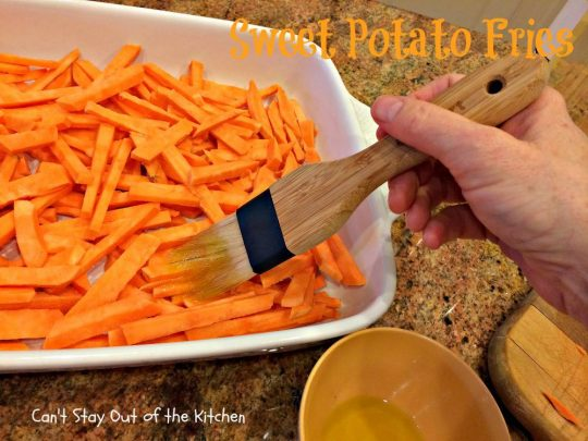 Sweet Potato Fries - IMG_1030