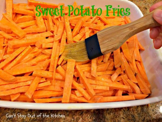 Sweet Potato Fries - IMG_1032