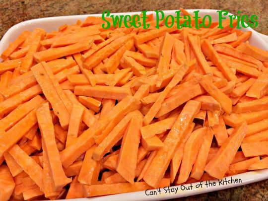 Sweet Potato Fries - IMG_1033