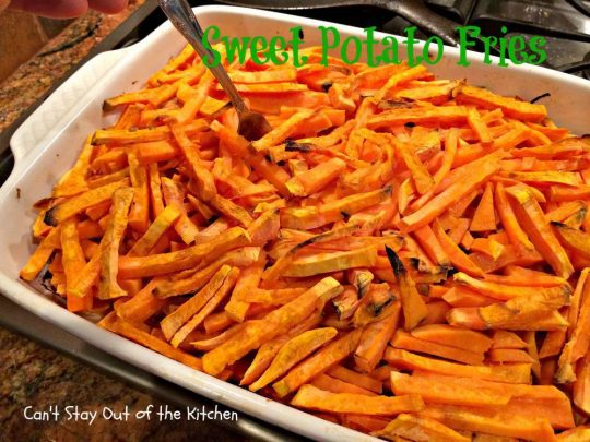 Sweet Potato Fries - IMG_1034