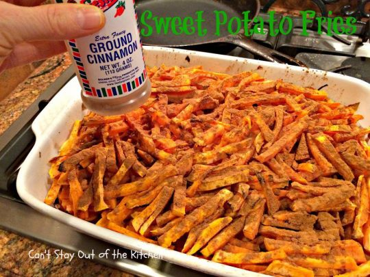 Sweet Potato Fries - IMG_1035