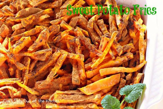 Sweet Potato Fries - IMG_7662