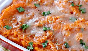 Sweet Potatoes Parmesan