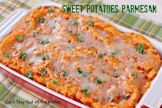 Sweet Potatoes Parmesan - IMG_0323