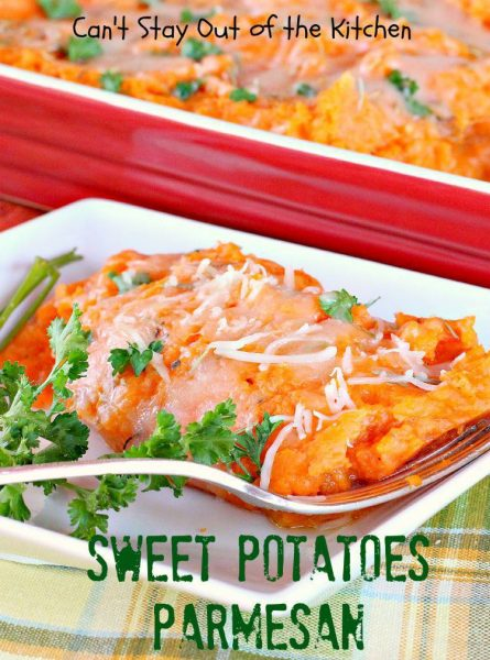 Sweet Potatoes Parmesan - IMG_0357