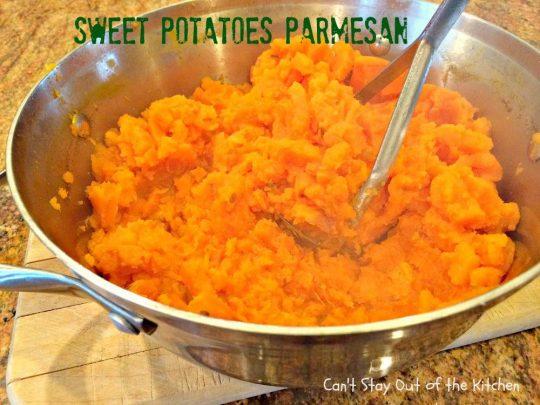 Sweet Potatoes Parmesan - IMG_4227