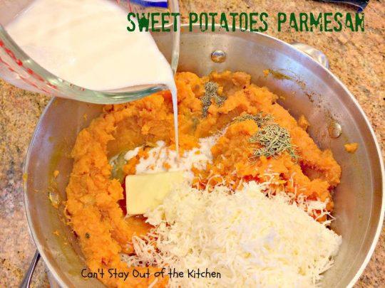 Sweet Potatoes Parmesan - IMG_4228