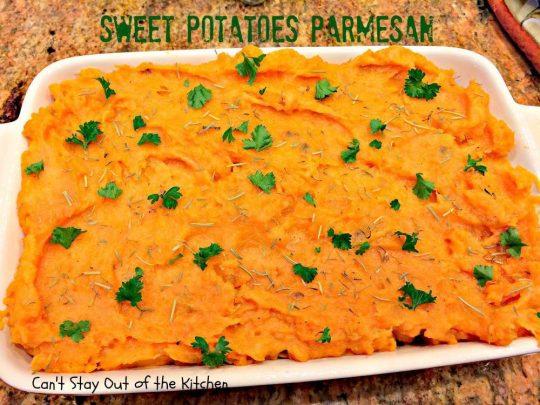 Sweet Potatoes Parmesan - IMG_4230