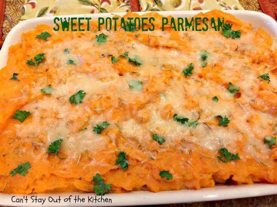 Sweet Potatoes Parmesan - IMG_4232