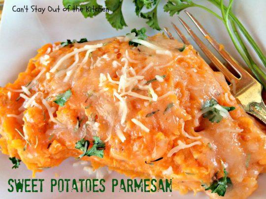 Sweet Potatoes Parmesan - IMG_4266