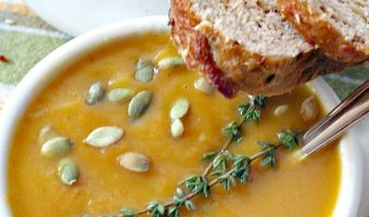 Sweet and Savory Butternut Squash Soup