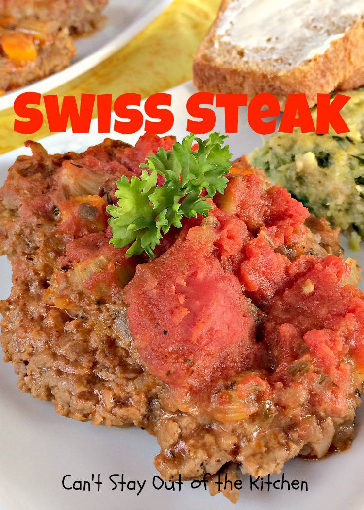 Swiss Steak - Can't Stay Out of the Kitchen