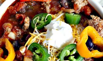 Taco Black Bean Chili