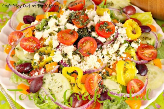 Teresa's Greek Salad - IMG_1508