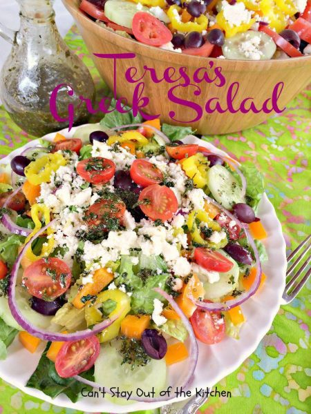 Teresa's Greek Salad - IMG_5887