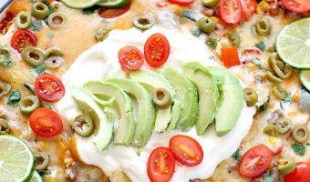 Tex-Mex Beef and Rice Skillet
