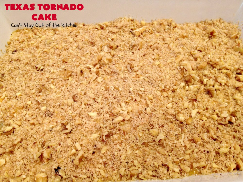 Easy Recipe Texas Tornado Cake