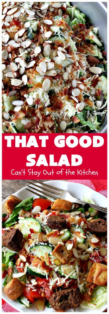 That Good Salad | Can't Stay Out of the Kitchen