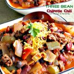 Three Bean Chipotle Chili